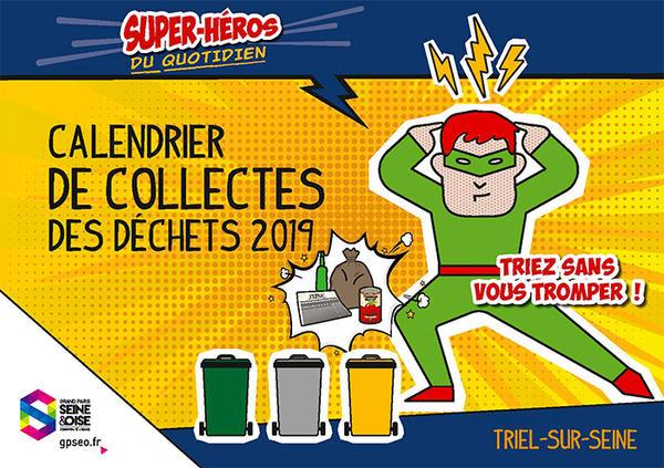 Calendrier Encombrants 77.Collecte Des Dechets Triel Sur Seine