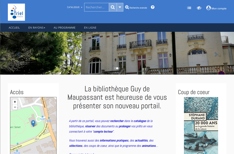 Triel Sur Seine Fr bibliothèque municipale - triel-sur-seine