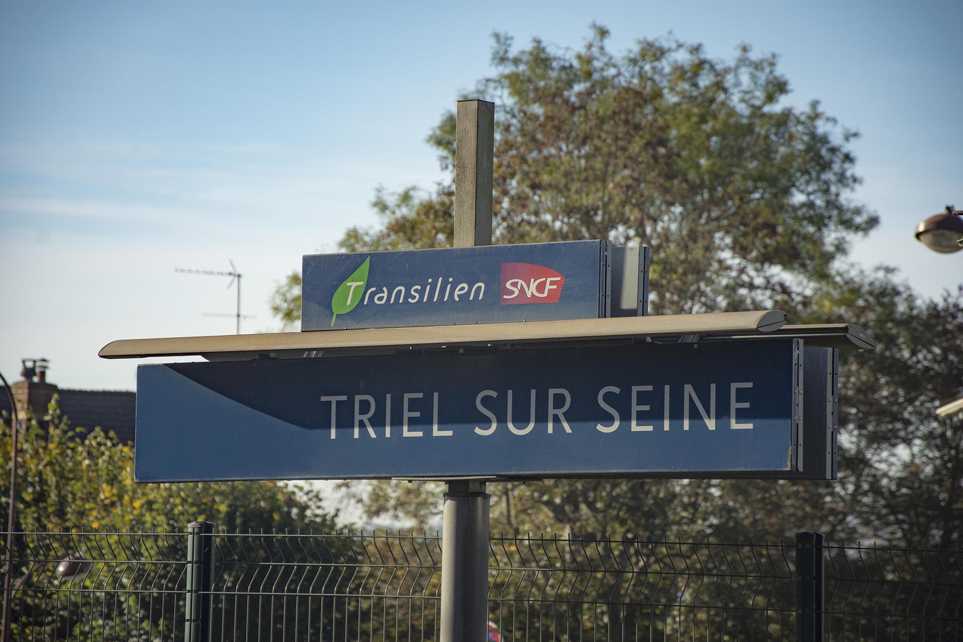 Triel Sur Seine Fr train - triel-sur-seine